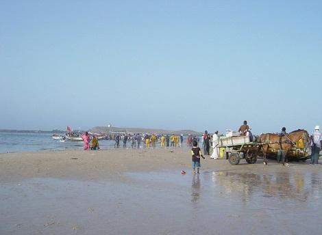 Fisherman's beach Yoff Layene Dakar