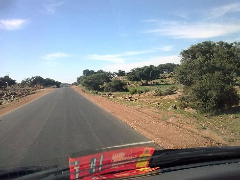 Mauritania overland