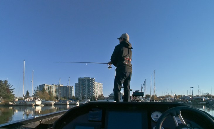 Fishing for whatever bites in Ontario's Greater Toronto Area