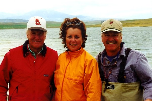 In Montana with Jerry McKinnis and Bill Klein from Patagonia