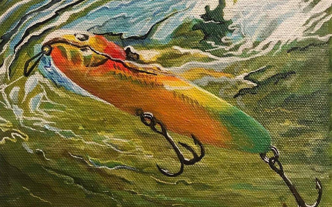 zara spook fishing lure art