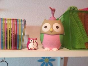 Bathroom owls