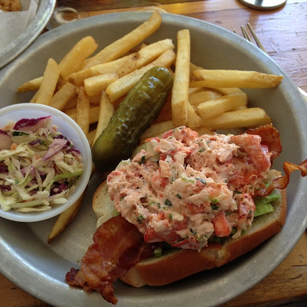 Lobster Joint - lobster roll and fries