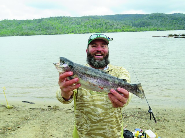 Trout for Collins lake fishing report