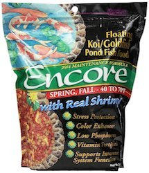 encore spring and fall koi goldfish food