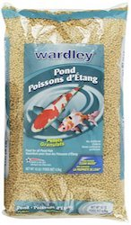 hartz wardley pond ten floating food pellets
