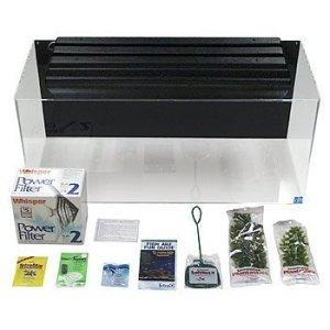 seaclear 40 gallon acrylic aquarium kit