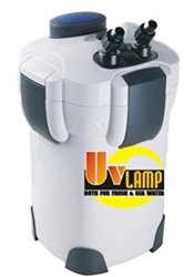 sunsun 4-stage external canister filter 100 gallon