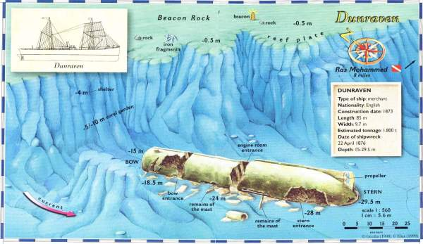 SS Dunraven_map