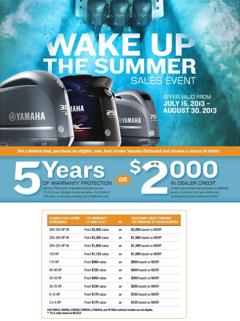 Yamaha Summer Promotion 2013