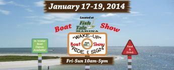 Boat Show Located at Fish Tale Marina