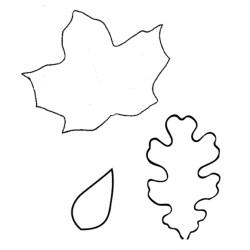leaf outline cut patterns skirt leafy candle printable felt tumbler diy pattern prep onto