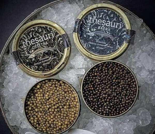 Caviar exquisite baerii malossol 50g