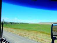 As we neared Montana there were more farms and crops.