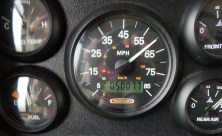 Cecil the diesel turned 50,000 that snowy day.
