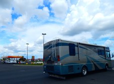Ritzville, Washington where I found a Dale's Diner for lunch and also dumped the tanks and loaded on fresh water.