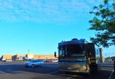 Morning at Kennewick's Walmart store.