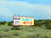 There seems to be just too many of these tourist trap signs along Arizona's Interstates.