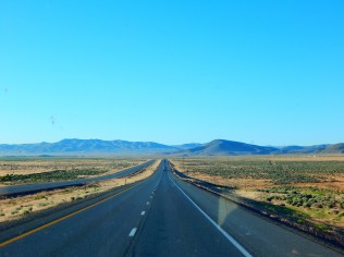 Wide open spaces and lots of open road; what a great way to start the day!