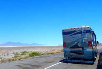 Another Dale's Diner - this one at the rest area overlooking the Bonneville Salt Flats.