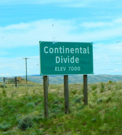 The second crossing of the Continental Divide. I've been driving this route for years and still don't understand how we cross it twice!