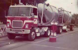 "Another truck I drove during the sugar and chemical hauling days. This old ""Jimmy"" was a good looking truck and the interior was awesome."
