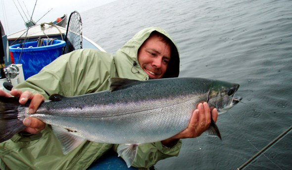 The coho at Whaler's were overweight slobs!