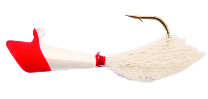 The classic red & white shad dart still catches plenty of fish today!