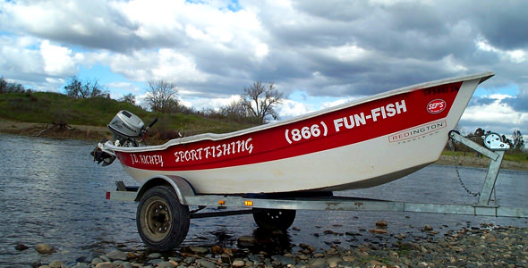 "The ol ""plastic"" boat"