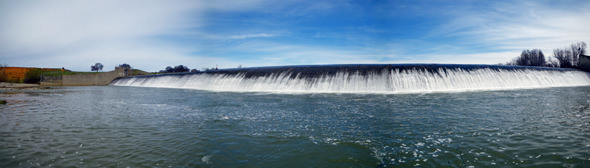 Daguerre Point Diversion Dam
