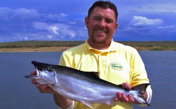 Wyoming Record Kokanee Salmon