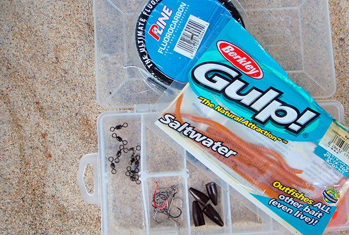 Gulp Sandworms