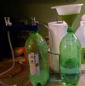 Setting-up-citric-acid-baking-soda-co2