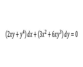 Ecuaciones diferenciales exactas. Identificación y resolución 4