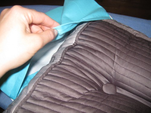 How To Make No Sew Removable Pillow Covers Finding