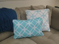 How To Make No Sew Removable Pillow Covers | Finding ...