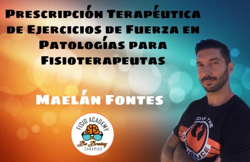 Prescripción Terapéutica de Ejercicios de Fuerza en patologías para Fisioterapeutas. Maelán Fontes.