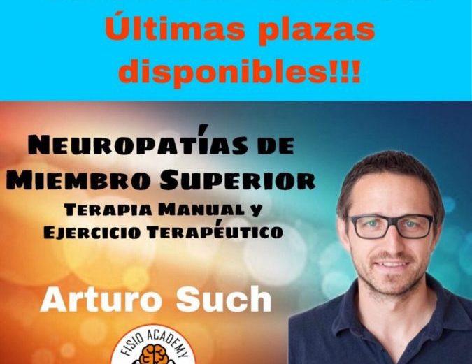 Neuropatías de Miembro Superior. Terapia Manual y Ejercicio Terapéutico.  Arturo Such.