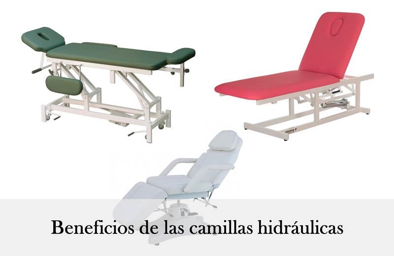 Beneficios de las camillas hidráulicas