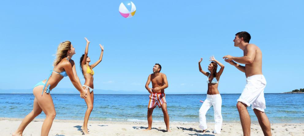 Beneficios del deporte en la playa