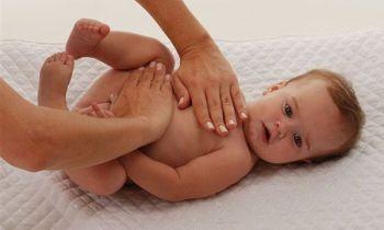 Masajes Colico para Bebes
