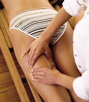 masaje en piernas