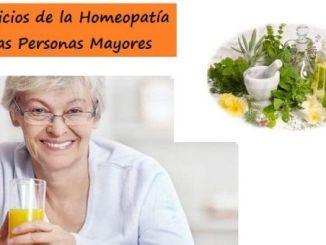 Beneficios de la homeopatía en personas mayores.