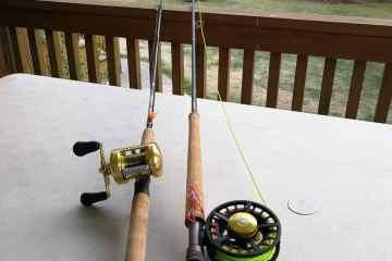 Fiskerejser og fiskeeventyr Fiskestængerne er klar