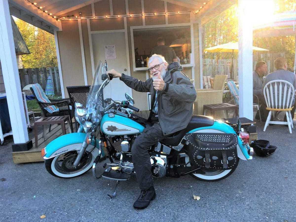 Bendt på Harley Davidson