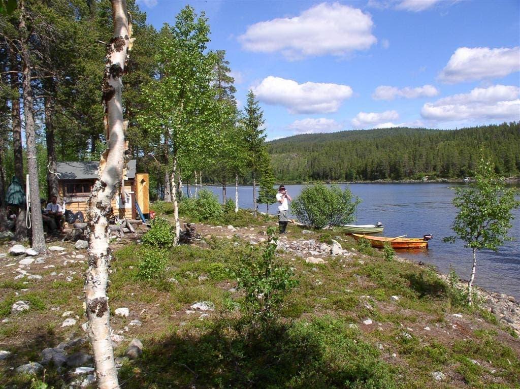 Fiskerejse til lapland Masvik hytter