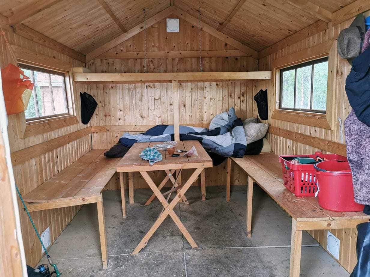 Vildmarks camps i Lapland fiskerejse huset i Masvik i lapland (10)