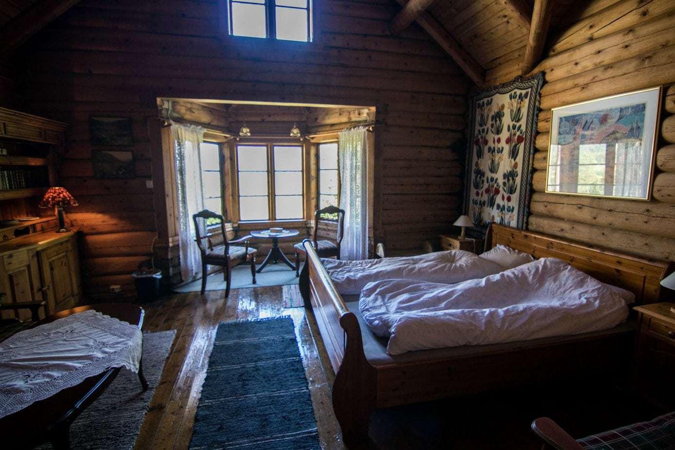 Todalshytten - bedste værelse med seng