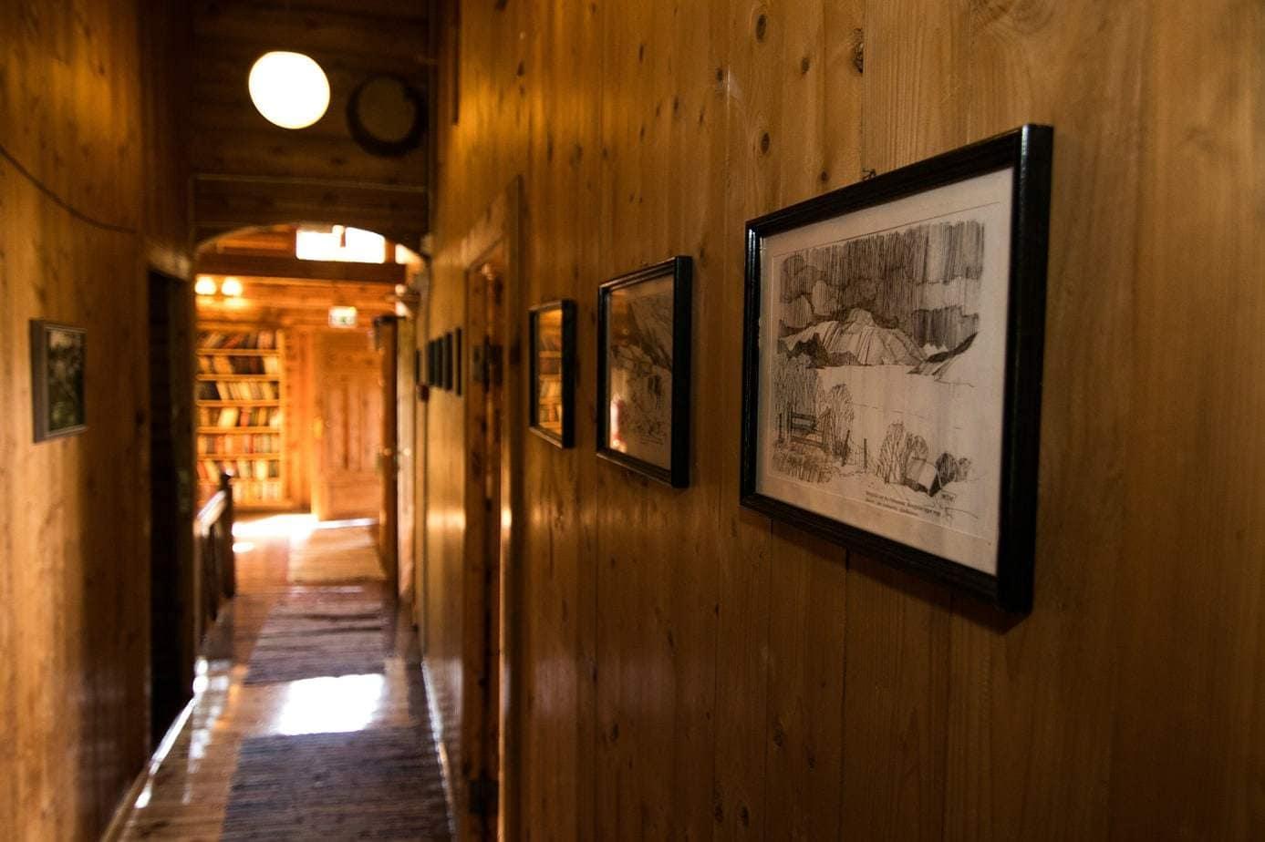 Todalshytten - det historiske rum
