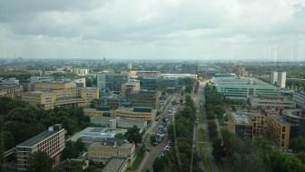 Überblick von Nijemgen, aus der Uni raus.